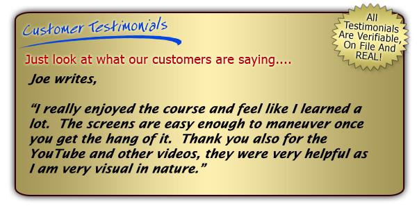 format for testimonial